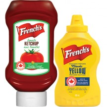 "View the ""French's – Save $1.00 when you buy (1) French's® Mustard (325 mL or more) AND one (1) French's® Ketchup"" coupon page"