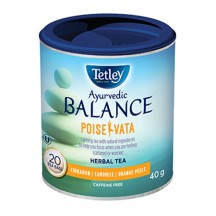 "View the ""Tetley Ayurvedic Balance Tea – Save 1, Get 1 FREE Buy 1 Tetley tea 20/24s and get a FREE Tetley Ayurvedic Balance herbal 20s"" coupon page"