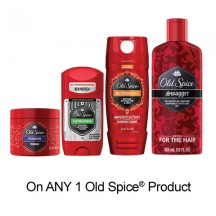 "View the ""Old Spice – Save $1.00"" coupon page"