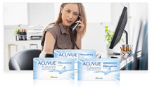 "View the ""Free Contact Lens from Acuvue Canada"" coupon page"