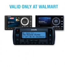 "View the ""SiriusXM – Save $15.00 on on select SiriusXM radios"" coupon page"