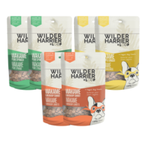 "View the ""FREE Dog Treats from Wilder Harrier"" coupon page"