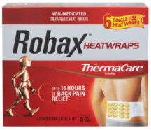 """View the """"FREE Robax Heat Wraps Sample"""" coupon page"""