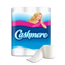 "View the ""Cashmere® – Save $1.00 on off any Cashmere® bathroom tissue 12-roll and larger"" coupon page"