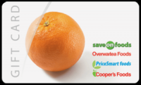 "View the ""New! FREE $25 Save-On-Foods Gift Card!!"" coupon page"