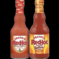 "View the ""Frank's RedHot – Save 25¢ off one (1) bottle of Frank's RedHot® Hot Sauce (any flavour)"" coupon page"