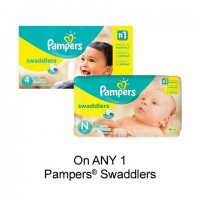 "View the ""Pampers – Save $2.00 when you buy any ONE Pampers® Swaddlers Diapers (excludes trial/travel size, value/gift/bonus packs)"" coupon page"