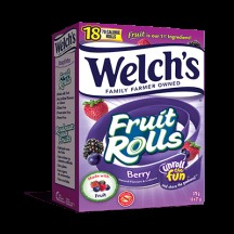 "View the ""Welch's® Fruit Rolls – Save 1.00 On Any Box of Welch's® Fruit Rolls (any flavour)"" coupon page"