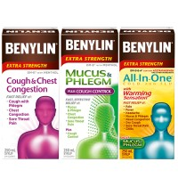 "View the ""Benylin – Save $2 on any ONE (1) BENYLIN® product (250mL or 270mL)"" coupon page"