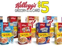 "Voir le ""Kellogg's Free $ 5 Grocery Pre-Paid Card"" Page coupon"