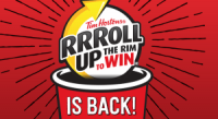 "View the ""Tim Hortons Roll Up The Rim is Back!"" coupon page"