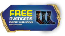 "View the ""FREE Avengers Infinity War Socks from Post Cereal!"" coupon page"