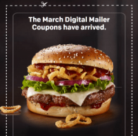 "View the ""FREE McDonald's March Digital Mailer Coupons!!"" coupon page"