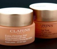 "View the ""FREE Clarins Extra-Firming Day & Night Cream!!"" coupon page"