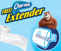 "View the ""FREE Charmin Toilet Paper Roll Extender"" coupon page"