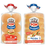 "View the ""POM® – Save $1 on a package of POM® Ultra-Soft Buns"" coupon page"