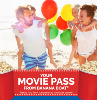 "View the ""FREE Cineplex Movie Passes from Banana Boat"" coupon page"
