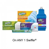 "View the ""Swiffer – Save $1.00"" coupon page"