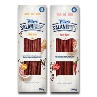"View the ""PILLER'S® – Save $1.00 on on PILLER'S® Salami Whips (100 g – 180 g)"" coupon page"